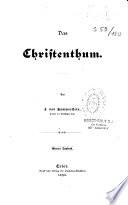 Das Christenthum