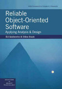 Reliable Object Oriented Software