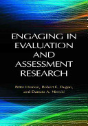 Engaging In Evaluation And Assessment Research Book PDF