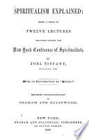 Spiritualism Explained Book