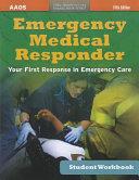 Ssg- Emergency Medical Responder 5E Student Workbook