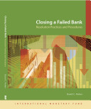 Cover image of Closing a failed bank : resolution practices and procedures