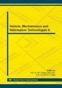 Vehicle, Mechatronics and Information Technologies II [Pdf/ePub] eBook