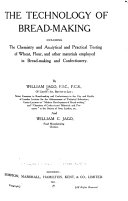 The Technology Of Bread Making Book PDF