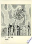 Vox Lycei 1991-1992