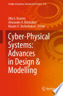 Cyber Physical Systems  Advances In Design   Modelling