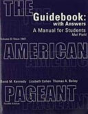 The American Pageant Book PDF