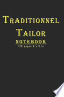 Traditionnel Tailor Notebook