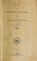 Report of the Governor of Alaska to the Secretary of the Interior