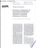 Emissions assessment of conventional stationary combustion systems