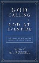 God Calling God at Eventide Book PDF