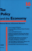 Pdf Tax Policy and the Economy