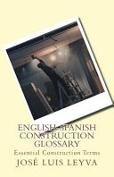English Spanish Construction Glossary
