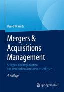 Mergers   Acquisitions Management