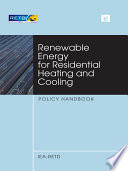 Renewable Energy for Residential Heating and Cooling Book