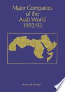 Major Companies of the Arab World 1992/93