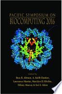 Biocomputing 2016 Proceedings Of The Pacific Symposium