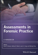 Pdf Assessments in Forensic Practice Telecharger