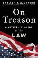 On Treason Book PDF