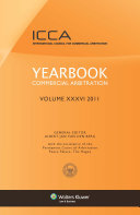 Yearbook Commercial Arbitration Volume XXXV   2011