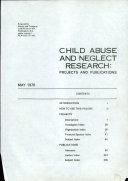 Child Abuse and Neglect Research