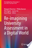 Re imagining University Assessment in a Digital World