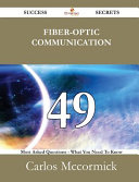 Fiber Optic Communication Book PDF