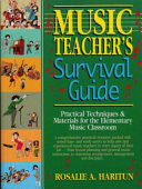 Music Teacher s Survival Guide Book