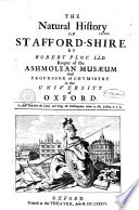 The Natural History of Staffordshire