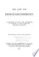 The Case for Disestablishment