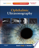 Ophthalmic Ultrasonography E Book Book