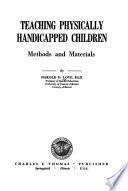 Teaching physically handicapped children