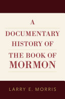 A Documentary History of the Book of Mormon Pdf/ePub eBook