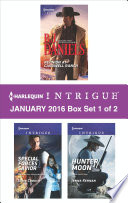 Harlequin Intrigue January 2016   Box Set 1 of 2 Book