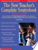 The New Teacher's Complete Sourcebook-- Middle School