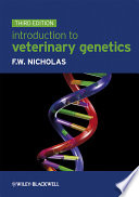 Introduction to Veterinary Genetics Book