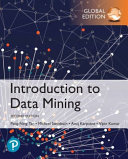 Cover of Introduction to Data Mining