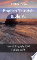 English Turkish Bible VI