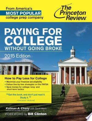 Download Paying for College Without Going Broke, 2015 Edition Free Books - Dlebooks.net
