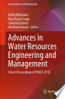 Advances In Water Resources Engineering And Management Book PDF