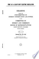 FERC as a Least cost Electric Regulator Book