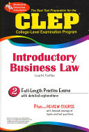 The Best Test P CLEP Introductory Business Law