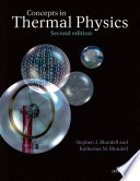 Concepts in Thermal Physics Book