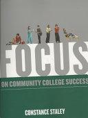 FOCUS on Community College Success Book