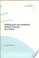 Tackling Racist and Xenophobic Violence in Europe