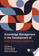 Knowledge Management in the Development of Data Intensive Systems