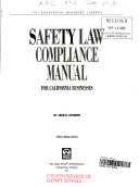 Safety Law Compliance Manual for California Businesses