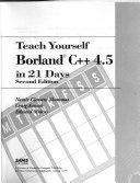 Teach Yourself Borland C   4 5 in 21 Days