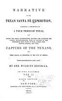Pdf Narrative of the Texan Santa Fé Expedition