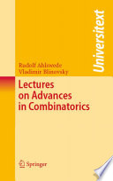 Lectures on Advances in Combinatorics Book